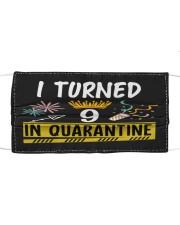 9 I turned in quarantine Cloth face mask thumbnail