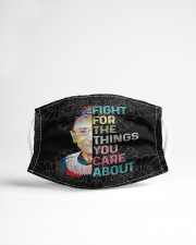 RBG fight lace Cloth face mask aos-face-mask-lifestyle-22