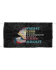 RBG fight lace Cloth face mask front