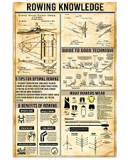 Rowing Knowledge 11x17 Poster front