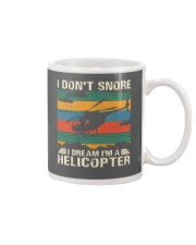 I Don't Snore Helicopter Mug thumbnail