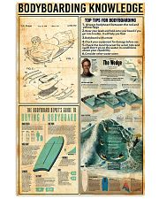 Bodyboarding Knowledge 11x17 Poster front