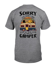Sorry For What I Said Bear Classic T-Shirt back