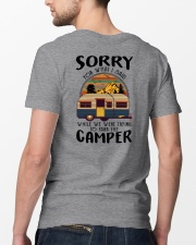 Sorry For What I Said Bear Classic T-Shirt lifestyle-mens-crewneck-back-5
