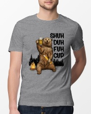 Sorry For What I Said Bear Classic T-Shirt lifestyle-mens-crewneck-front-13