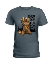 Sorry For What I Said Bear Ladies T-Shirt thumbnail