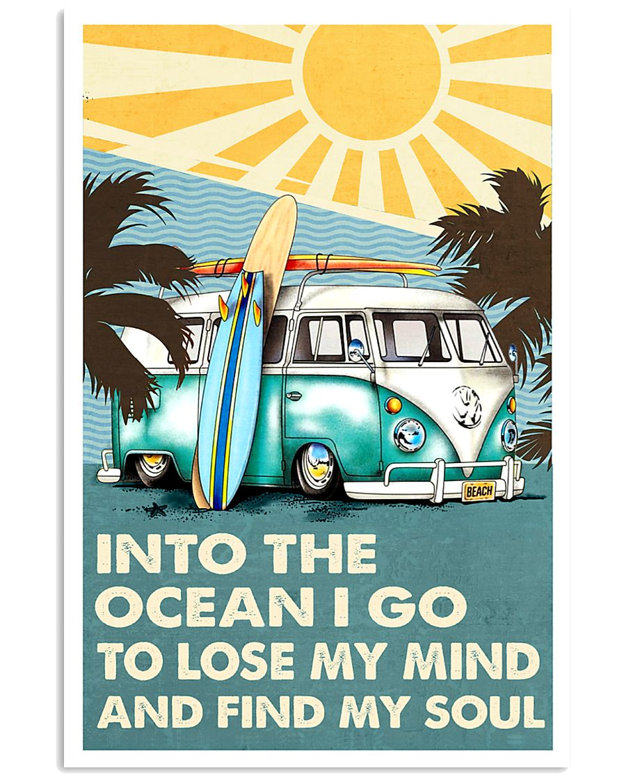Surfing Summer 5 11x17 Poster