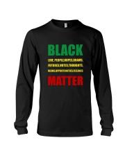 Black Matter 2 Slide front Long Sleeve Tee thumbnail