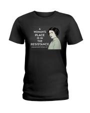 resistance yard sign Ladies T-Shirt thumbnail