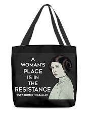resistance yard sign All-over Tote thumbnail