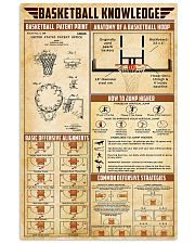 Basketball Knowledge 11x17 Poster front