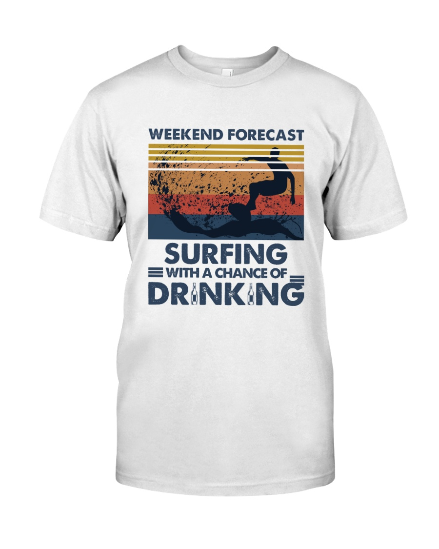 Surfing Forecast Classic T-Shirt