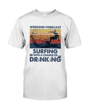 Surfing Forecast Classic T-Shirt front