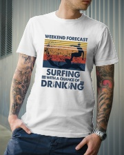 Surfing Forecast Classic T-Shirt lifestyle-mens-crewneck-front-6
