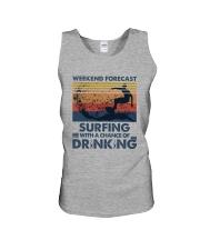 Surfing Forecast Unisex Tank thumbnail
