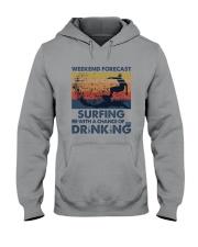 Surfing Forecast Hooded Sweatshirt thumbnail