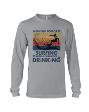 Surfing Forecast Long Sleeve Tee thumbnail