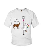 46 Unicorn other you  Youth T-Shirt thumbnail