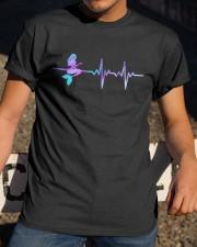 Mermaid american flag Classic T-Shirt apparel-classic-tshirt-lifestyle-28