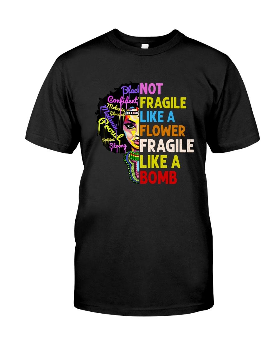 BP-H-0107205-TE-Fragile like a bomb Classic T-Shirt