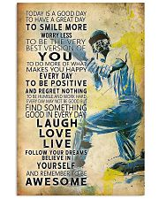 Cricket Today Is A Good Day 11x17 Poster front
