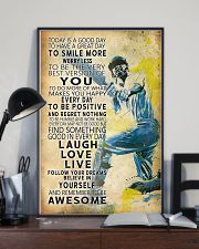 Cricket Today Is A Good Day 11x17 Poster lifestyle-poster-2