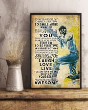 Cricket Today Is A Good Day 11x17 Poster lifestyle-poster-3