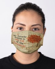 Favorite season fall Cloth face mask aos-face-mask-lifestyle-01