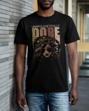 Unapologetically dope girl Classic T-Shirt apparel-classic-tshirt-lifestyle-front-40