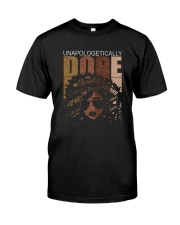 Unapologetically dope girl Classic T-Shirt front