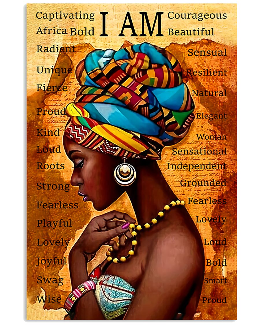 I Am Gorgeous Black People 11x17 Poster