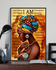 I Am Gorgeous Black People 11x17 Poster lifestyle-poster-2