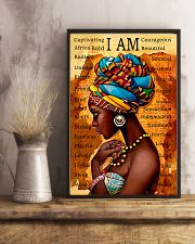 I Am Gorgeous Black People 11x17 Poster lifestyle-poster-3