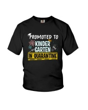 Kindergarten Promoted in quarantine Youth T-Shirt front