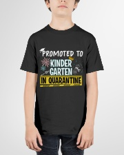 Kindergarten Promoted in quarantine Youth T-Shirt garment-youth-tshirt-front-01