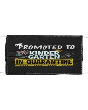 Kindergarten Promoted in quarantine Cloth face mask thumbnail