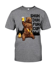 Shuh Duh Fuh Cup I Hate People  Classic T-Shirt front