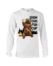 Shuh Duh Fuh Cup I Hate People  Long Sleeve Tee tile