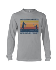Dad Daughter Badminton Long Sleeve Tee thumbnail