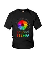 You Can Be Anything Be Kind Sign Hand Youth T-Shirt thumbnail