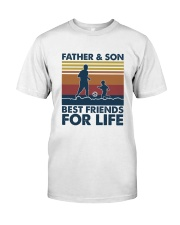 Football Dad Son Classic T-Shirt front