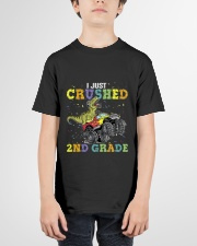 2nd grade I just crushed Youth T-Shirt garment-youth-tshirt-front-01