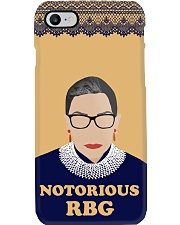 Notorious RBG yellow dress Phone Case tile
