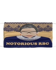 Notorious RBG yellow dress Mask tile