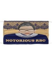 Notorious RBG yellow dress Cloth face mask thumbnail