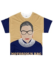 Notorious RBG yellow dress All-over T-Shirt thumbnail