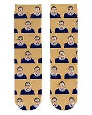 Notorious RBG yellow dress Crew Length Socks thumbnail