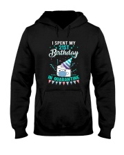 21st Spent birthday Hooded Sweatshirt thumbnail