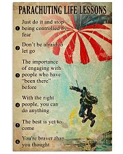 Parachuting Life lessons  11x17 Poster front