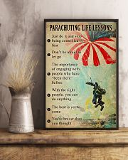 Parachuting Life lessons  11x17 Poster lifestyle-poster-3